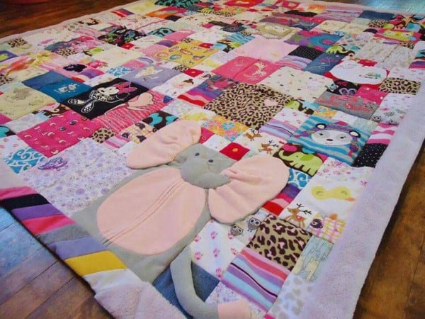 Baby Memory Quilt (c) Christy Waller, pinterest