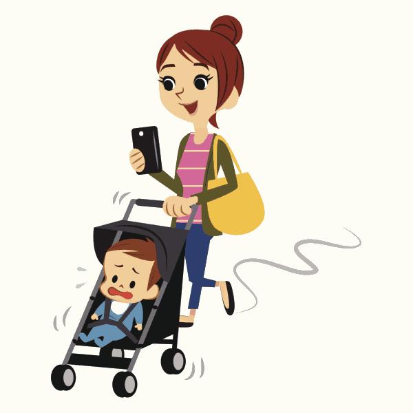 Eltern am Smartphone macht Kinder depressiv (© Thinkstock)