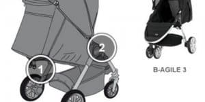 Kinderwagen Britax Römer B-Agile 3 (© Britax)