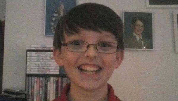 Collin wird 11 Jahre alt - und ahnt noch nichts von der Geburtstagsaktion seiner Mutter (c) Facebook