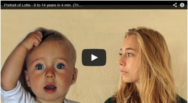 Lotte im Zeitraffer von 1 bis 14 Jahren (Screenshot: F. Hofmeester / Youtube)