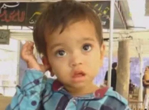 Musa Khan Pakistan: 9 Monate altes Kleinkind wegen versuchten Totschlags angeklagt (© Screenshot ITN)