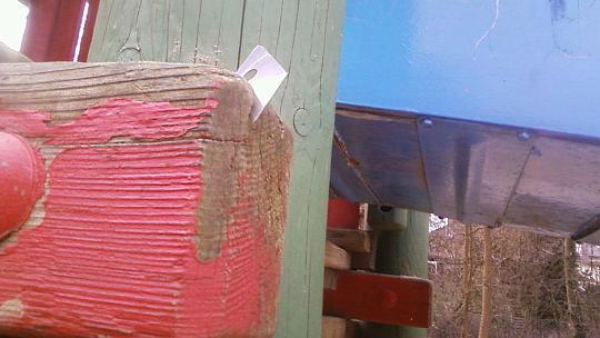 Rasierklingen auf dem Spielplatz versteckt (Foto: Dürener Servicebetrieb (DSB))