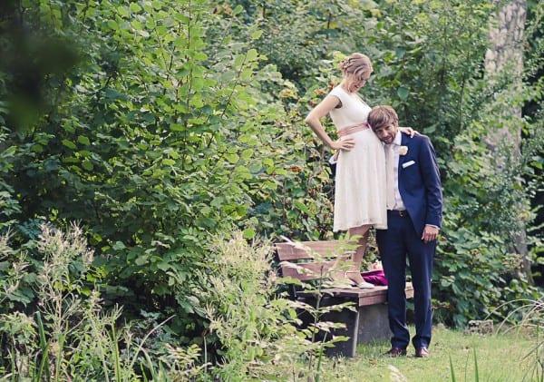 Heiraten mit Baby im Bauch © Anette Göttlicher /www.goettlicherfotografieren.de