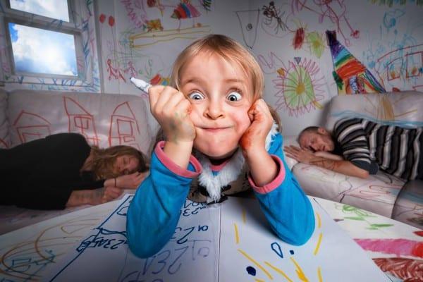 Kreative Eltern haben kreative Kinder ©  John Wilhelm