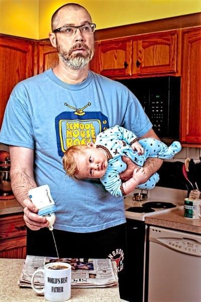 Das Bild, mit dem alles begann © Dave Engledow/World's Best Father