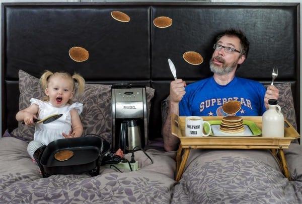 Frühstück im Bett © Dave Engledow/World's Best Father