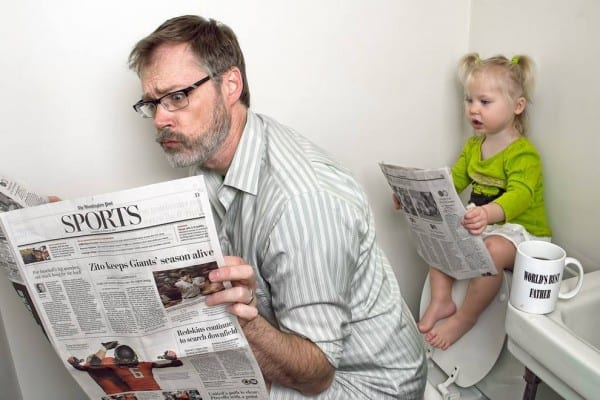 Gemeinsame Papa-Kind-Aktivitäten © Dave Engledow/World's Best Father