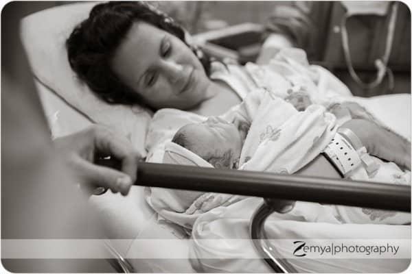 Kurz nach der Geburt © Zemya Photography