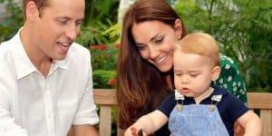 Eines der offiziellen Bilder zum ersten Geburtstag von Georg © Duke and Duchess of Cambridge