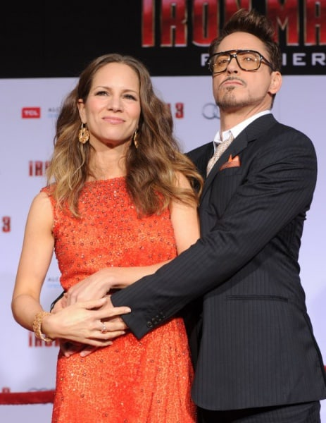 Susan Downey und Robert Downey Jr. freuen sich auf ihr Baby (© Kevin Winter / Getty Images Entertainment)