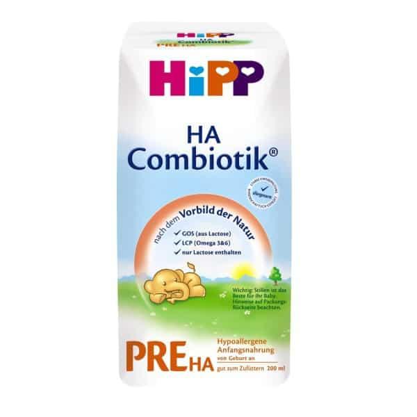 Rückruf von Hipp Pre HA Säuglingsnahrung