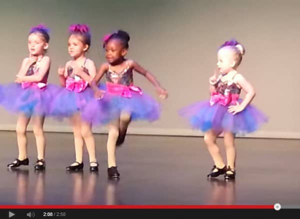 Original Dance Factory Preschool Tap © Randall Burns / youtube