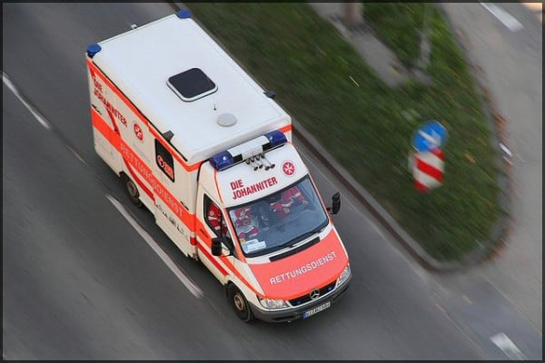 Das Baby wurde im Rettungswagen geboren (Symbolbild) ©Julian Schüngel/flickr