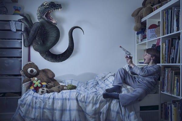 Keine Macht dem bösen Dino © mit freundlicher Genehmigung Laure Fauvel