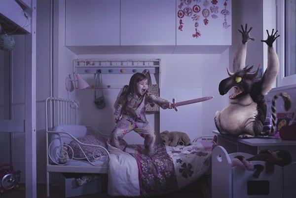 Ich bin mutiger als der Dickbauch Reiterinnen sind stärker als Monster © mit freundlicher Genehmigung Laure Fauvel