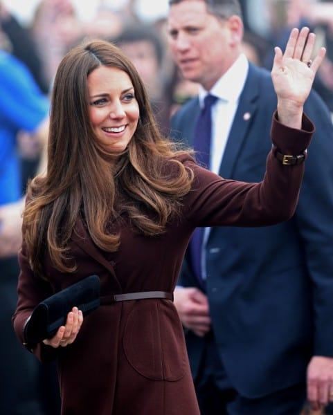 Herzogin Kate - die schwangere Catherine, Duchess of Cambridge (© Getty Images Entertainment)