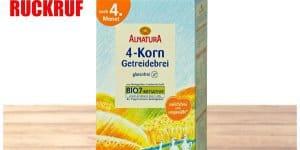 Rückruf Alnatura 4-Korn Getreide Brei