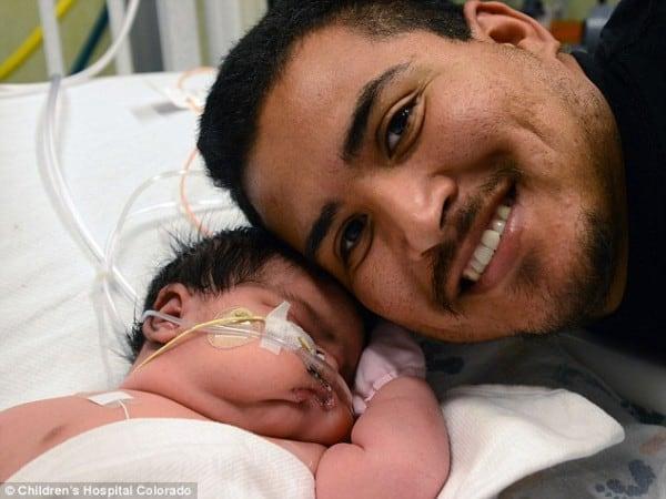 Mia Yasmin und ihr Vater
