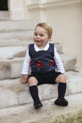 Auf jeden Fall scheint der Prinz schon viel zu erzählen © The Duke and Duchess of Cambridge