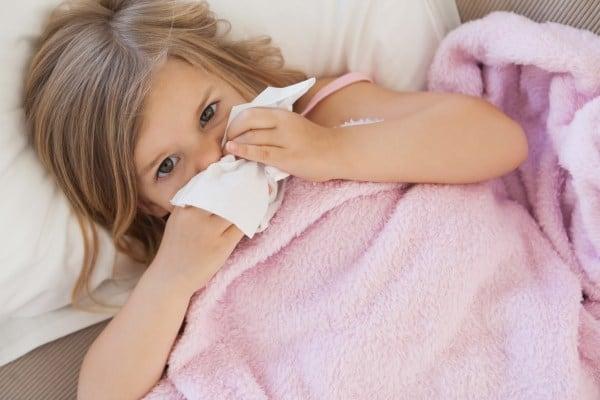 Wie viele Infekte sind bei Kindern normal? (© Thinkstock)