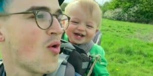 Wenn der Vater mit dem Sohne ... © Tom Flechter /Screenshot youtube