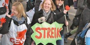 Streik bei den Mitarbeitern von Erziehungs- und Sozialberufen © Uwe Hiksch/flickr.com