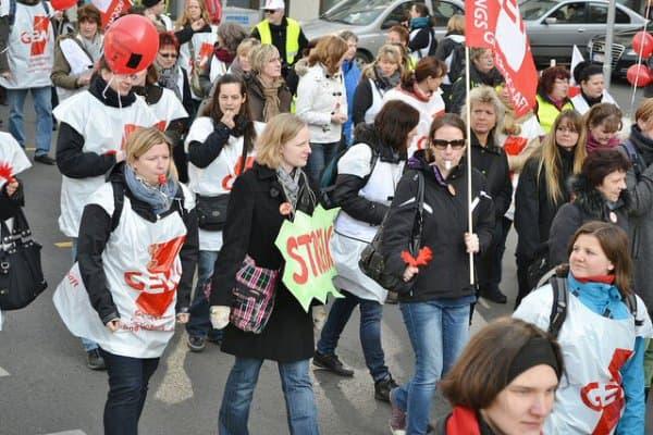 Streik bei den Mitarbeitern von Bundesweite Streiks der Erziehungs- und Sozialberufen sind angekündigt  © Uwe Hiksch/flickr.com