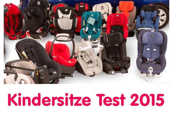 Kindersitze im Test 2015 Stiftung-Warentest und ADAC (©ADAC)
