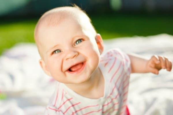 Baby Lachen Studie