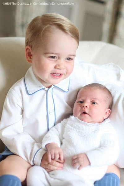 Stolzer großer Bruder ©HRH Duchess of Cambridge/@KensingtonRoyal