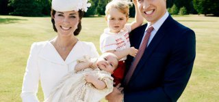 Strahlende Familie ©The British Monarchy/Facebook