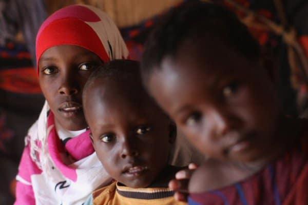 Für Frauen und Kinder ist die Flucht aus Bürgerkriegsgebieten wie Somalia sehr schwierig ©Getty Images