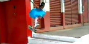 Rayssa lernt fliegen (c) Screenshot Facebook/Rayssa Leal