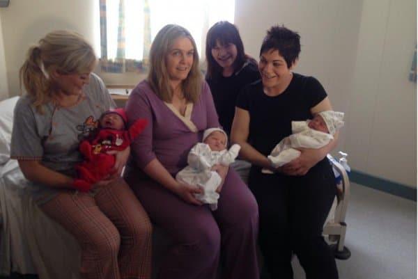 Irische Schwestern bekommen gleichzeitig Nachwuchs