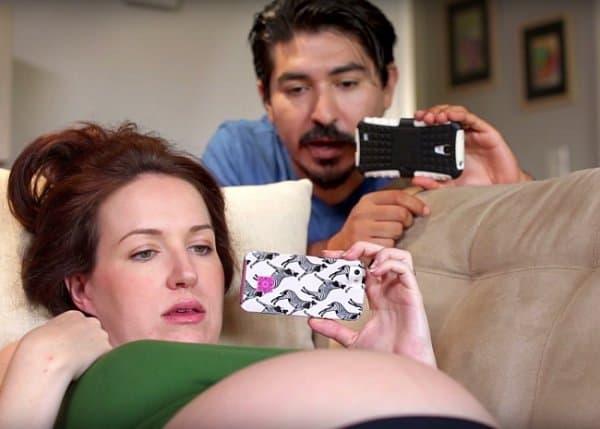 Nut werdende Eltern benehmen sich so merkwürdig .... © buzzfeed yellow/youtube