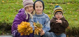 Zu dritt im Herbst © Thinkstock