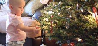 Noch steht der Weihnachtsbaum ... (c) Story of the Life/youtube