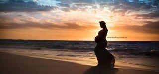Zauberhafte Erinnung an die Schwangerschaft ... (c) Erin Elizabeth Photography