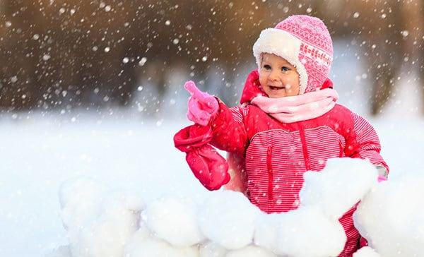 Der erste Schnee (© Thinkstock)