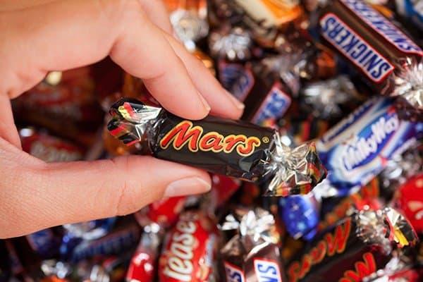 Rückruf für Mars, Snickers und Milky Way - gilt auch für Minis ....(c)Ekaterina Minaeva / Thinkstock