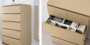 Unfallgefahr:iImmer an der Wand befestigen! © Ikea