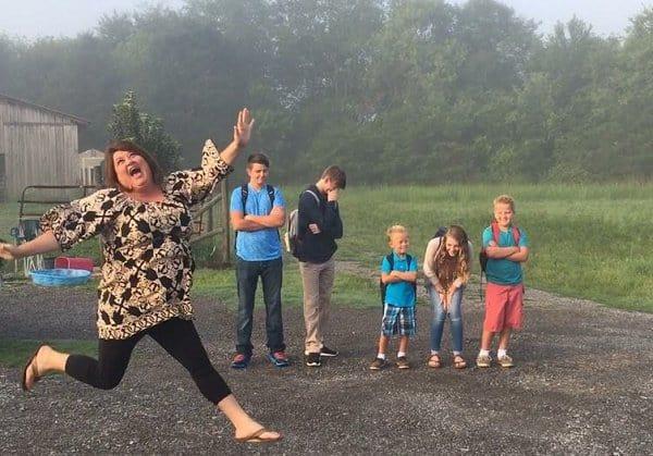 Wie fühlt sich Mama, wenn die Schule wieder anfängt ... (c)  Keshia Leeann Gardner via imgur