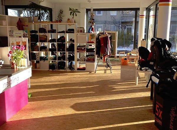 Das Kinderfachgeschäft nestling in Erfurt gehört zu den Kindersitzprofis