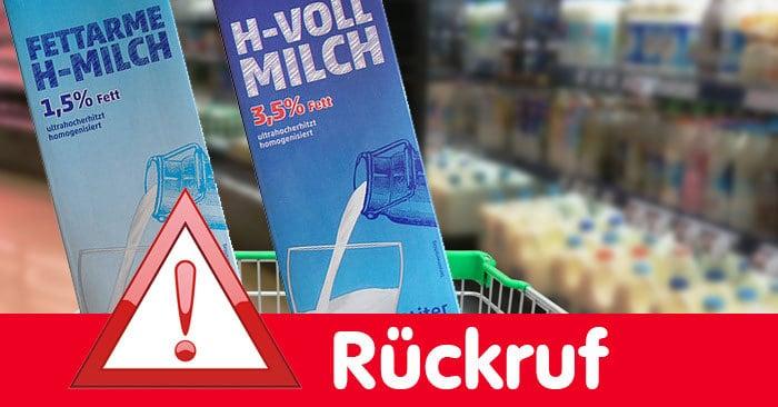 Rückruf: H-Milch von Hochwald (Collage: Produktfotos Hochwald, © Thinkstock)