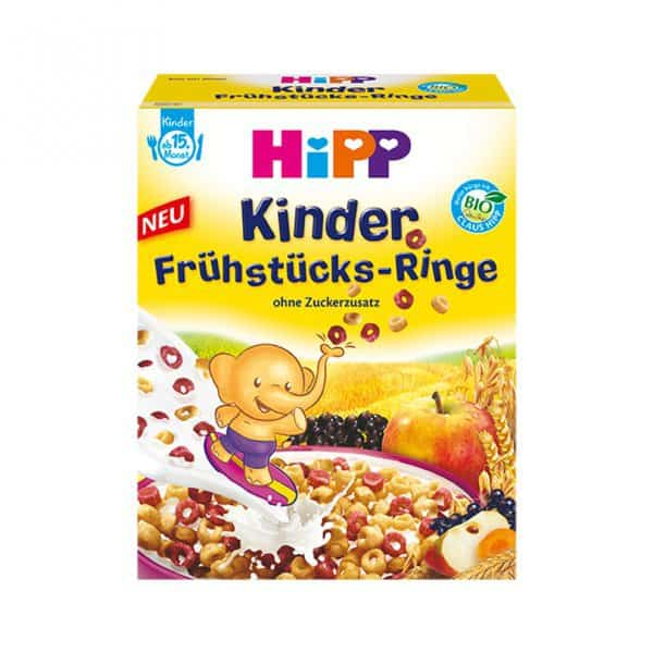 Rückruf für Hipp Kinder Frühstücks-Ringe © Hipp