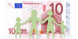 Der Kinderzuschlag soll um zehn Euro steigen ©  Thinkstock