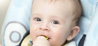 Essen nach Bedarf - gilt auch beim Brei  © Thinkstock