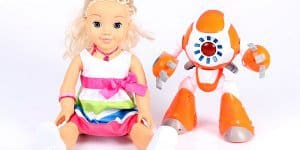 Puppe Cayla und Roboter i-que  ©  Forbrukerrådet