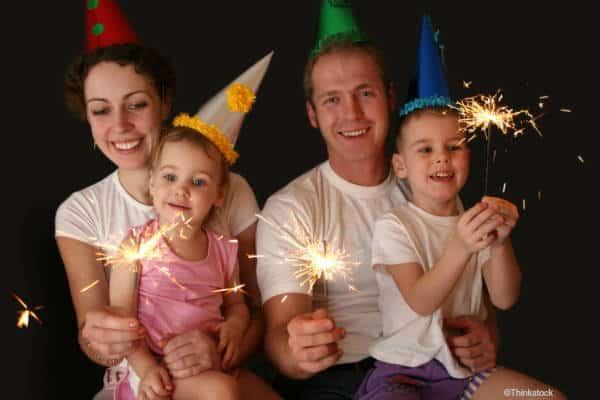 Silvester mit Babys und Kleinkindern - 9 Ideen für einen tollen Familienabend